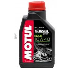 Масло трансмиссионное, 1л   (10W-40, TRANSOIL EXPERT) (КПП мото, SAE 80)   MOTUL   (#105895)