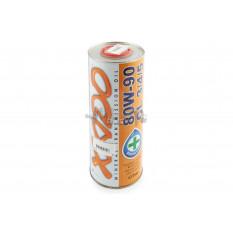 Масло трансмиссионное, 1л   (минеральное, 80W-90, GL3/4/5, Atomic OIL)   ХАДО