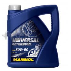 Масло трансмиссионное, 4л   (80W-90, Universal Getriebeoel API GL 4)   MANNOL