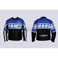 Мотокуртка   YAMAHA   (текстиль) (mod:YA-1, size:L, синяя)