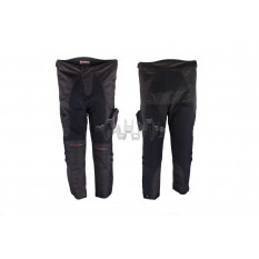 Мотоштаны   (текстиль) (накладной карман size L)