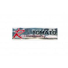 Наклейка   R TOMATO (14х6см)
