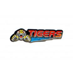Наклейка   TIGERS   (13х2см)