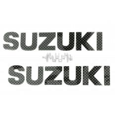 Наклейка   буквы   SUZUKI   (15х4см, 2шт)   (#HQ286)