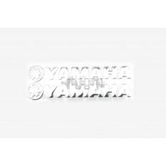 Наклейка   буквы   YAMAHA   (20х6см, 2шт, хром)   (#4751A)