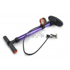 Насос ручной   (с манометром на 7кг/см2)   (фиолетовый)   OP
