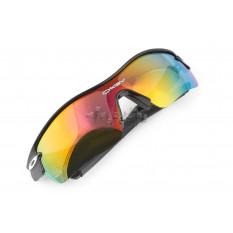 Окуляри спортивні KML (сірі, прозорі скла) (mod: WL-0003) арт.O-1544