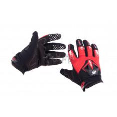 Перчатки   RG   (mod:1, size:M, красно-черные)
