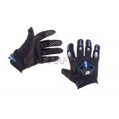 Перчатки   RG   (size:M, черно-синие)