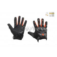 Перчатки   SCOYCO   (mod:HD-09, size:M, красные, текстиль)