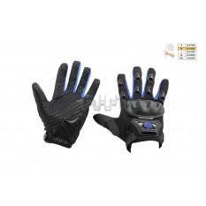 Перчатки   SCOYCO   (mod:HD-09, size:M, синие, текстиль)