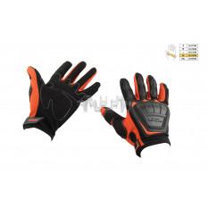 Перчатки   SCOYCO   (mod:MC-08, size:XL, красные, текстиль)