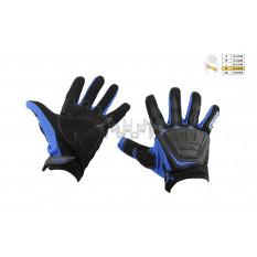 Перчатки   SCOYCO   (mod:MC-08, size:XL, синие, текстиль)