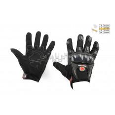 Перчатки   SCOYCO   (mod:MC-09, size:L, черные, текстиль)