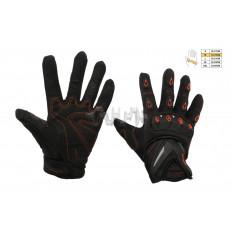 Перчатки   SCOYCO   (mod:MC-10, size:M, красные, текстиль)