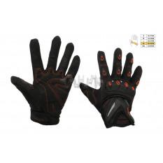 Перчатки   SCOYCO   (mod:MC-10, size:XL, красные, текстиль)