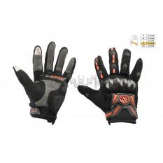 Перчатки   SCOYCO   (mod:MC-20, size:XL, красные, текстиль)