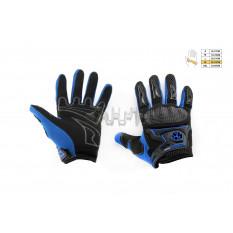 Перчатки   SCOYCO   (mod:MC-23, size:XL, синие, текстиль)