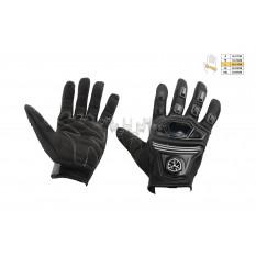 Перчатки   SCOYCO   (mod:MC-24, size:L, черные, текстиль)