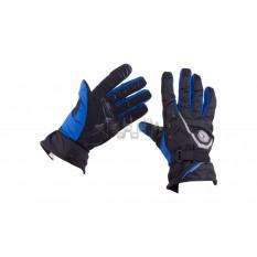 Перчатки   SCOYCO   (size:XL, синие, текстиль)