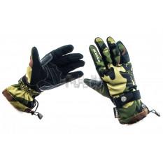 Перчатки   SCOYCO   (камуфляж, зелено-коричневые size L)