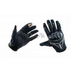 Перчатки   SUOMY   (черно-грифельные size L)