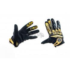 Перчатки  (бежево-черные, size M)   SCOYCO
