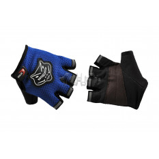 Перчатки без пальцев   (mod:HD-10, синие)   KNIGHTOOD