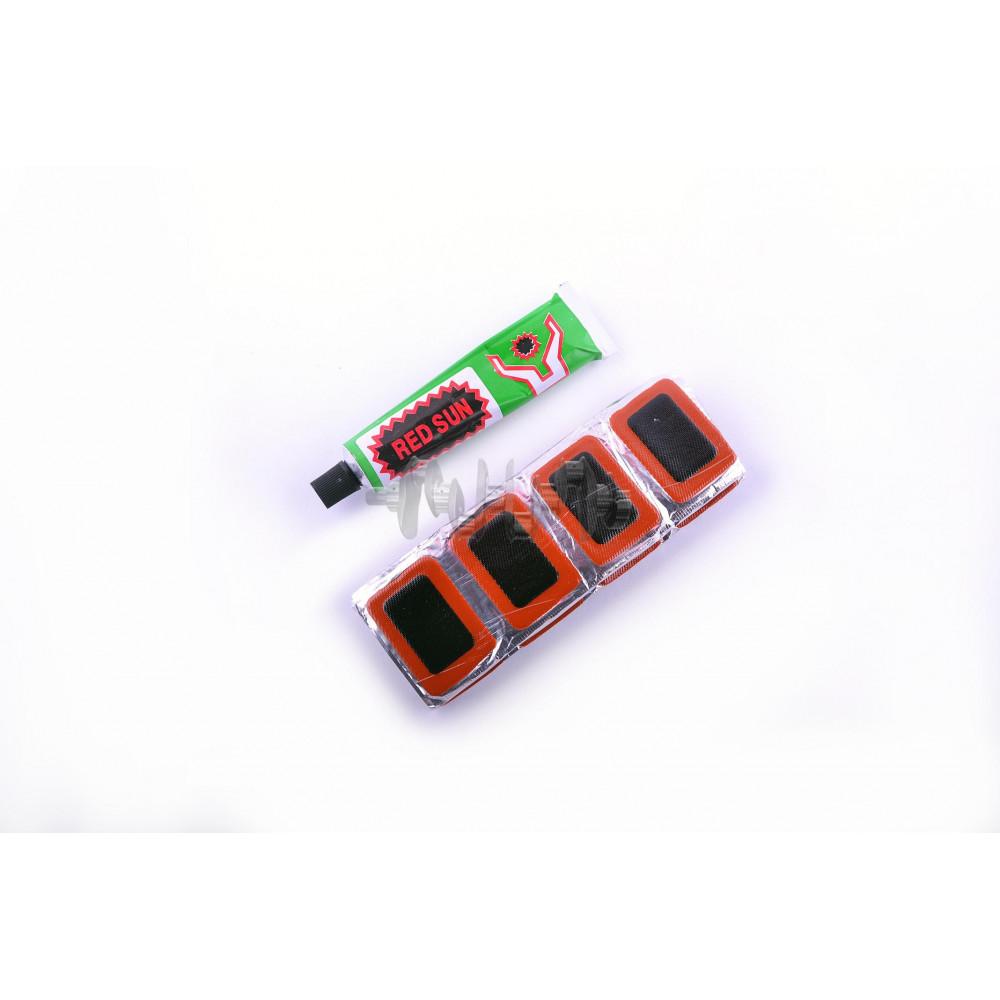 Ремкомплект камеры   25*40   (48 латок, клей)   YAT