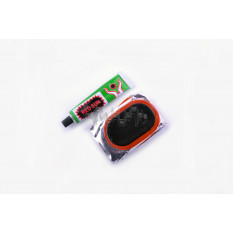 Ремкомплект камеры   45*70   (12 латок, клей)   YKX   (mod.A)