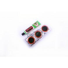 Ремкомплект камеры   Ø30   (36 латок, клей)   YKX   (mod.A)