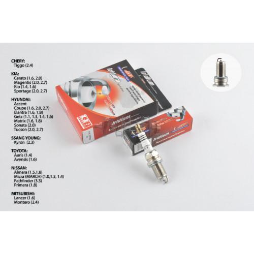 Свеча авто   ZFR6-11   M14*1,25 19,0mm   IRIDIUM   (под ключ 16) (длинный элетрод)   INT