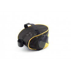Сумка велосипедная под седло   (mod:1, черно-желтый)   AI
