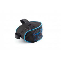 Сумка велосипедная под седло   (mod:1, черно-синий)   AI
