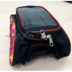 Сумка- трансформер для велосипеда   (с чехлом для телефона)  (желтая)   AI