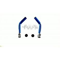 Упоры для рук велосипеда   (рога)   (mod:1, синие)   DS
