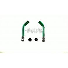 Упори для рук велосипеда (роги) (зелені) DS арт.R-3566