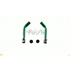 Упоры для рук велосипеда   (рога)   (зеленые)   DS