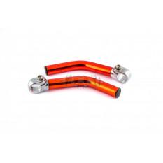 Упори для рук велосипеда (роги) (червоні) BDRK арт.D-3882