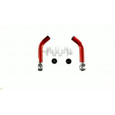 Упори для рук велосипеда (роги) (червоні) DS арт.R-3567