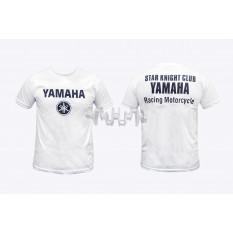 Футболка (size: M, mod: Club, 100% бавовна, біла) Yamaha арт.O-785