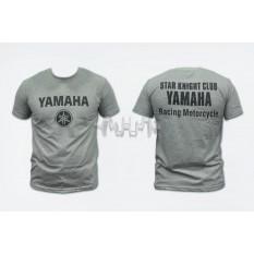 Футболка (size: XL, mod: Club, 100% бавовна, сіра) Yamaha арт.O-792