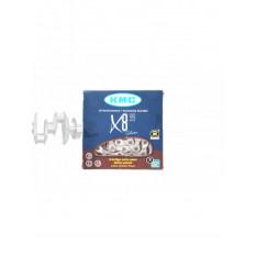 Цепь велосипедная   (1/2х3/32 116L, 21-24 ск)   (X8)   (KMC)   KL