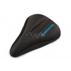 Чехол сиденья велосипедный   (черный, гелевый)