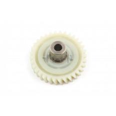 Шестерня ведомая привода электропилы Vorskla (d-10mm, D-74мм 33 шлицов с левым наклоном)