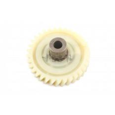 Шестерня ведомая привода электропилы Vorskla (d-10mm, D-74мм 33 шлицов с правым наклоном)