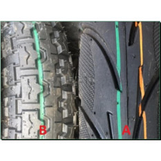 Шина   4,00 -12   TT (TT  D  Китай,камерная)   LTK