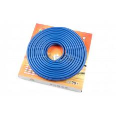Шланг топливный   Ø4mm, 10 метров   (силиконовый, синий)   HTY