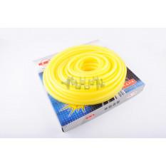 Шланг паливний d4mm, 20 метрів (силіконовий, жовтий) арт.S-2668