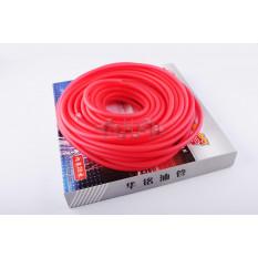 Шланг паливний d4mm, 20 метрів (силіконовий, червоний) арт.S-2669